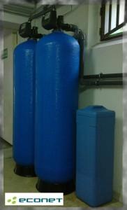 Filtry do usuwania żelaza i manganu - odżelazianie i odmanganianie
