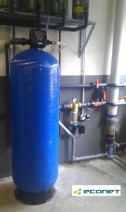 Filtry wody mechaniczne - doczyszczanie wody