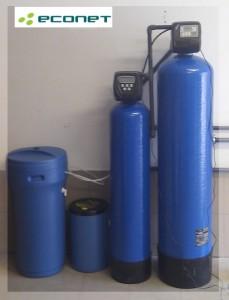 Stacja uzdatniania wody: odżelazianie i zmiękczanie