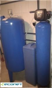 Na problemy z twardą wodą - zmiękczacz wody