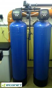 Zmiękczacz duplex - ciągła dostawa wody zmiękczonej