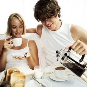 Smaczna herbata, aromatyczna kawa.