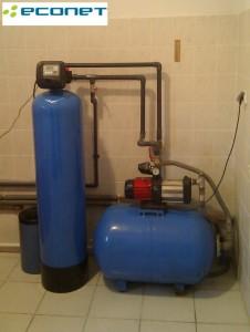 Skuteczne odżelazianie i odmanganianie w Twoim domu - Econet FGr 13 - domowe filtry wody