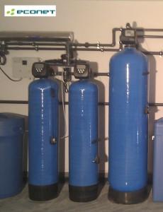Stacja uzdatniania wody dla dużego domu