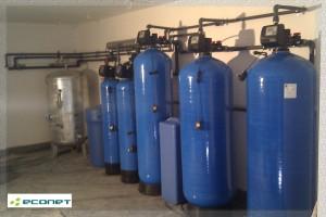 Stacja uzdatniania wody: odżelazianie, zmiękczanie, filtr węglowy