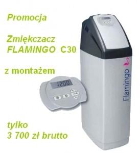 Zmiękczacz wody kompaktowy Flamingo