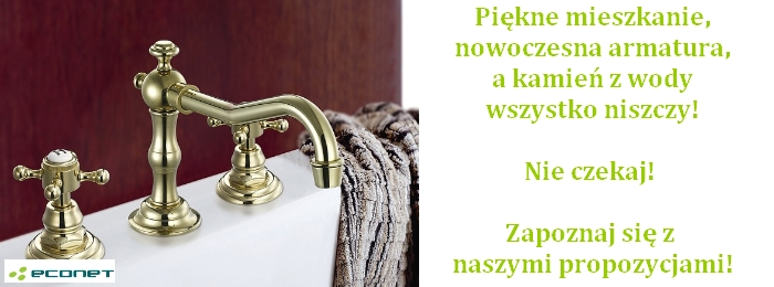 Rozwiązania dla mieszkań - stacje doczyszczania wody